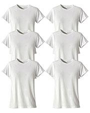 Custom Embroidered Econscious EC3000 Women 4.4 Oz. 100% Organic Cotton Classic Short-Sleeve T-Shirt 6-Pack at GotApparel