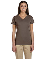 Econscious EC3052 Women 4.4 oz. 100% Organic Cotton short sleeve VNeck TShirt at GotApparel