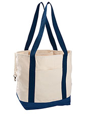 Econscious EC8035 12 oz. Organic Cotton Canvas Boat Tote Bag at GotApparel