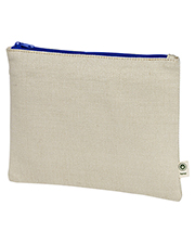 Custom Embroidered Econscious EC8402 Hemp Pouch at GotApparel
