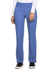 EL130 Mid Rise Straight Leg Pull-on Pant at GotApparel
