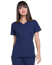 Elle EL720 Women V-Neck Top at GotApparel