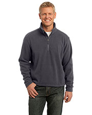 Port Authority TLF218 Men Tall Value Fleece 1/4-Zip Pullover at GotApparel