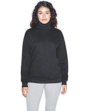 Custom Embroidered American Apparel F4575W Women Flex Fleece Turtleneck at GotApparel