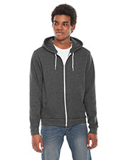 American Apparel F497 Flex Fleece Zip Hoodie at GotApparel