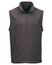 Tri-Mountain F8358 Men Expedition Polar Fleece Vest With Slash Zipper Pockets at GotApparel