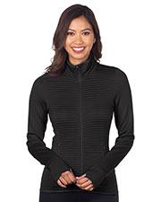 Tri-Mountain FL7278 Women Double-Knit Jacket at GotApparel