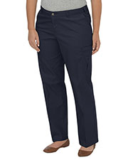 Dickies FPW2372 Women Premium Relaxed Plus-Size Straight Cargo Pant at GotApparel