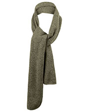 Port Authority FS05 Men Heathered Knit Scarf at GotApparel