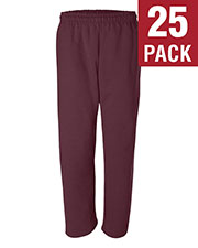 Gildan G123 Men Dryblend 9.3 Oz. 50/50 Open-Bottom Sweatpants 25-Pack at GotApparel