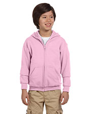 Gildan G186B Boys Heavy Blend 8 oz., 50/50 Full Zip Hood at GotApparel