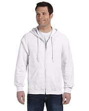 Gildan G186 Men Heavy Blend 8 oz., 50/50 Full Zip Hood at GotApparel