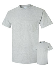 Gildan G230 Men Ultra Cotton  6 Oz. Pocket T-Shirt 2-Pack at GotApparel