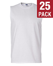 Gildan G270 Men Ultra Cotton 6 Oz. Sleeveless T-Shirt 25-Pack at GotApparel