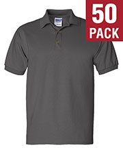 Gildan G280 Men Ultra Cotton 6 Oz. Jersey Polo 50-Pack at GotApparel