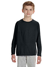 Gildan G424B Boys Performance 4.5 oz. LongSleeve T-Shirt at GotApparel