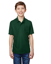 Gildan G458B Boys Performance® Youth 5.6 oz. Double Pique Polo at GotApparel