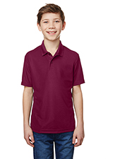 Gildan G458B Performance Youth 5.6 oz Double Pique Polo at GotApparel