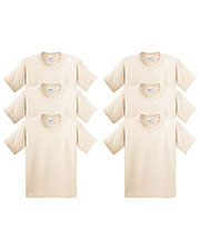Gildan G500B Boys Heavy Cotton 5.3 Oz. T-Shirt 6-Pack at GotApparel