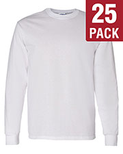 Gildan G540 Men Heavy Cotton 5.3 Oz. Long-Sleeve T-Shirt 25-Pack at GotApparel