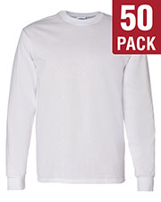 Gildan G540 Men Heavy Cotton 5.3 Oz. Long-Sleeve T-Shirt 50-Pack at GotApparel