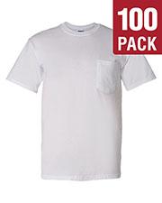 Gildan G830 Men Dryblend  5.6 Oz. 50/50 Pocket T-Shirt 100-Pack at GotApparel