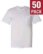 Gildan G830 Men Dryblend  5.6 Oz. 50/50 Pocket T-Shirt 50-Pack at GotApparel