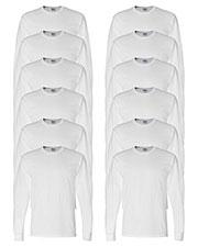 Gildan G840 Men Dryblend 5.6 Oz. 50/50 Long-Sleeve T-Shirt 12-Pack at GotApparel