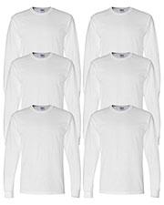 Gildan G840 Men Dryblend 5.6 Oz. 50/50 Long-Sleeve T-Shirt 6-Pack at GotApparel