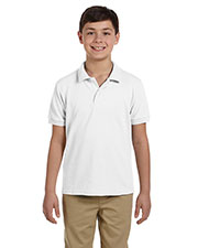 Gildan G948B Boys DryBlend 6.5 oz. Pique Sport Shirt at GotApparel
