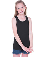 Girls 7-16 Sheer Jersey Scoop Neck Tank at GotApparel