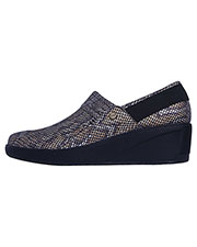 Infinity Footwear GLIDE Women Leather Work Wedge at GotApparel