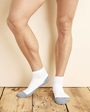 Gildan GP731 Men Platinum Ankle Socks (White) at GotApparel