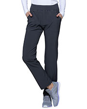 HeartSoul HS075T Women Mid Rise Tapered Leg Pant at GotApparel
