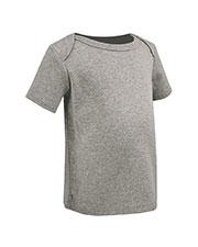 Unisex Infants Lap Shoulder Short Sleeve Top at GotApparel