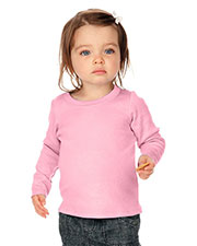 Unisex Infants Baby Doll Long Sleeve Top at GotApparel