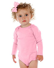 Unisex Infants Lap Shoulder Long Sleeve Onesie at GotApparel