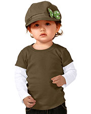 Unisex Infants Two-fer Long Sleeve Top (Same I1P0538) at GotApparel