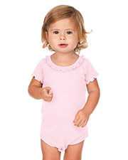 Infants Sunflower Short Sleeve Onesie at GotApparel