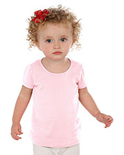 Infants Scoop Neck Puff Sleeve at GotApparel