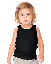 Infants Scalloped Beater Tank at GotApparel