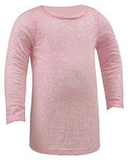 Infants Burnout Twisted Crew Neck Long Sleeve at GotApparel
