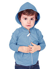 Unisex Infants Jersey Long Sleeve Zip Up Hoodie at GotApparel