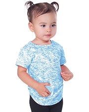 Infants Static Jersey Print Crew Neck Short Sleeve at GotApparel
