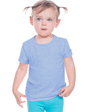 Infants Slub Crew Neck Short Sleeve at GotApparel