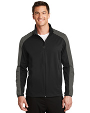 Port Authority J718  ®  Active Colorblock Soft Shell Jacket. at GotApparel