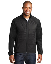 Port Authority J787  ®  Hybrid Soft Shell Jacket. at GotApparel