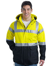 Port Authority® J799S Men's ANSI 107 Class 3 Safety Heavyweight Parka at GotApparel
