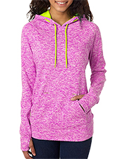 J America J8616  Ladies' Cosmic Contrast Pullover Hood at GotApparel