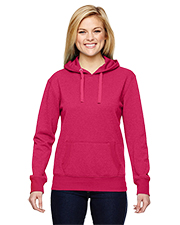 J America J8860  Ladies' Glitter French Terry Hood at GotApparel